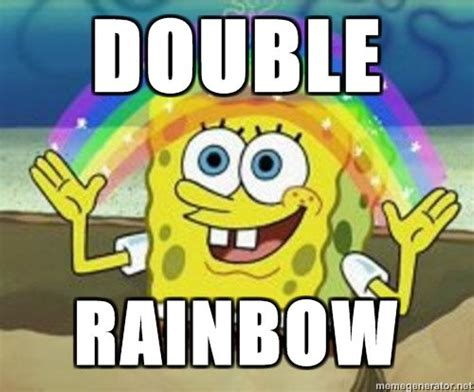 Double Picture Meme Generator - image 61451 double rainbow know your meme