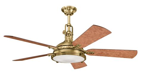 antique brass ceiling fan kichler burnished antique brass ceiling fan burnished