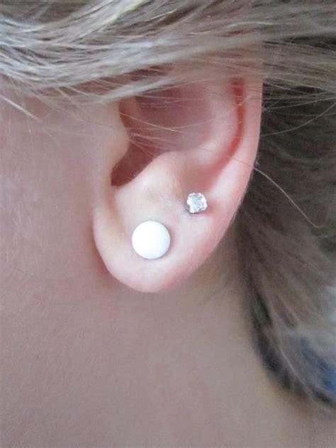just got ears pierced when do i remove the studs the 25 best double lobe piercing ideas on pinterest