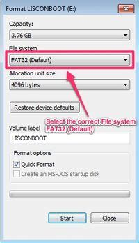 fat32 format a usb drive format usb pen drive with fat filesystem stratodesk