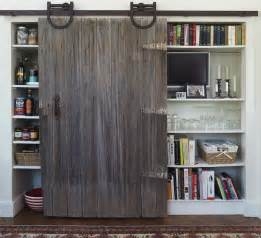 Kitchen Closet Doors Pantry With Barn Door Transitional Kitchen Yankee Magazine