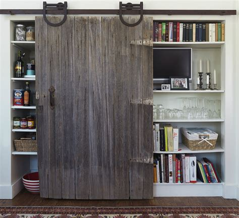 pantry with barn door transitional kitchen yankee