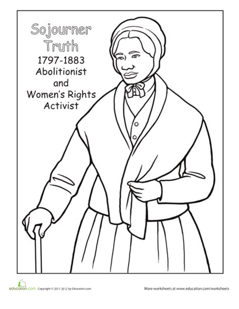harriet tubman coloring sheet coloring pages