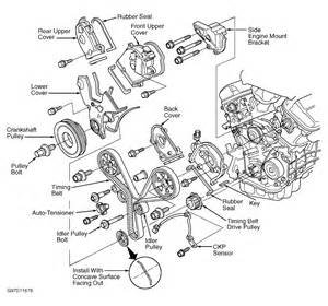 2004 honda accord serpentine belt routing and timing belt