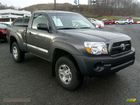 2011 Toyota Tacoma Regular Cab 2011 Toyota Tacoma Regular Cab 4x4 In Magnetic Gray