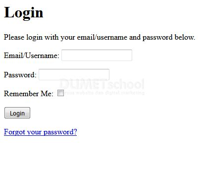 cara membuat login session dengan codeigniter membuat authentication di codeigniter dengan menggunakan