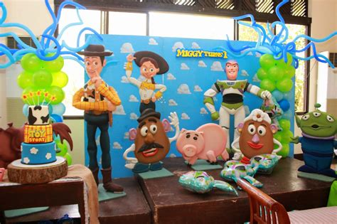 toy story themes party the chalebrations blog miggy turns one toy story