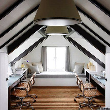 attic space 7 finished attic office spaces we love