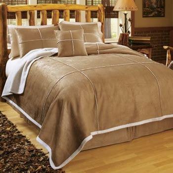 sheepskin comforter faux suede shearling comforter set twin size