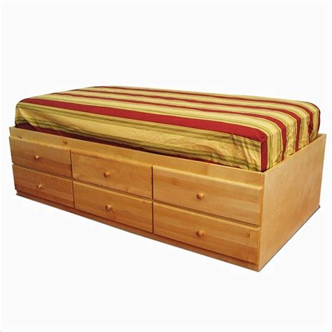 12 drawer storage bed king storage bed with 12 drawers