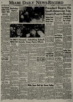 Daily Oklahoman Records Miami Daily News Record Newspaper Archives Feb 22 1960