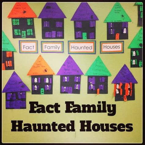 fact family house best photos of fact family haunted house template blank fact family house template
