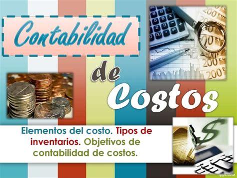 contabilidad de costos contabilidad de costos