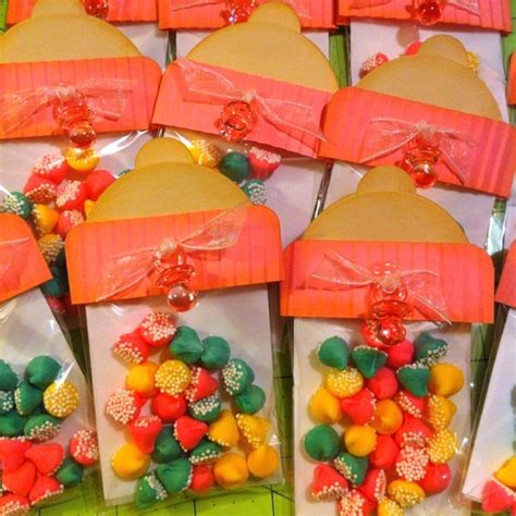 Handmade Baby Shower Favors - handmade baby shower favors foods gift