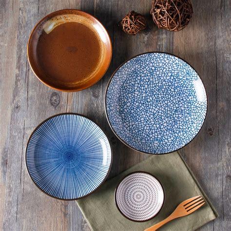 Ceramic Tableware guaranteed 100 crackle glaze dinnerware sets japanese