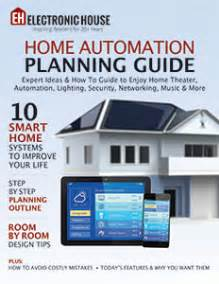 home automation planning guide electronic house