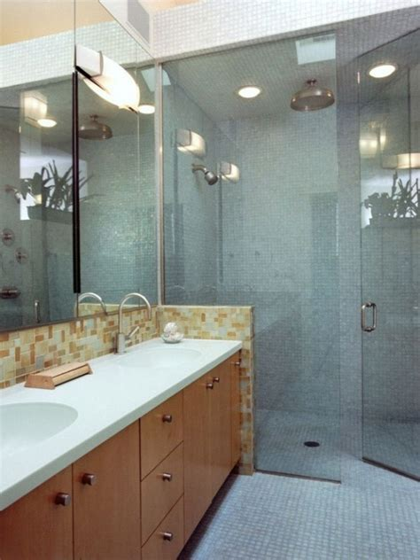 curbless handicap accessible shower design pictures