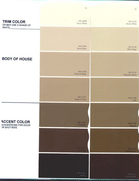 paint colors in beige beige color chart the preserve architectural review