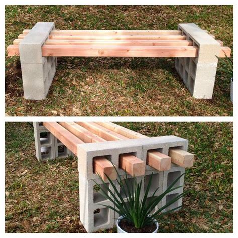 homemade garden bench 13 great diy outdoor benches page 3 diy scoop