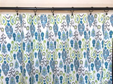 ikat drapery panels ikat drapery curtain panels choose from 10 by thebluebirdshop