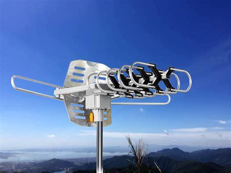 hdtv antenna amplified digital tv antenna  miles range