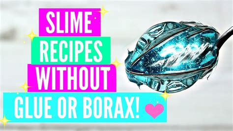 slime tutorial without borax testing popular no glue no borax slime recipes how to