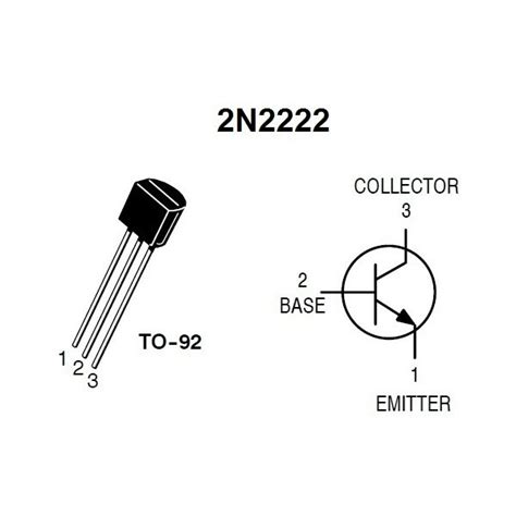 datasheet of transistor 2222a 2n2222 transistor 40v 600ma npn la tronics