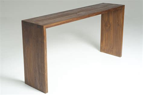 sofa table design slim sofa table amazing console design