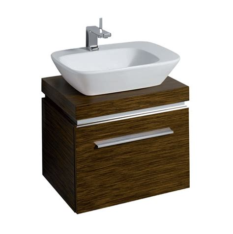 twyford vello 570 countertop basin with shelf and vanity