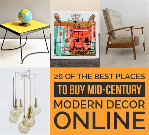 mid century modern decor 26 of the best places to buy mid century modern decor