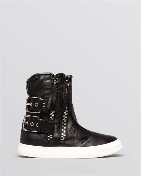 giuseppe high top sneakers giuseppe zanotti high top sneakers buckle boot in