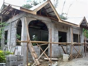 building a concrete block house part 6 philippines house designs to suit wide blocks house of samples