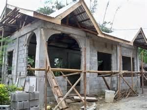 concrete home construction building a concrete block house part 6 philippines
