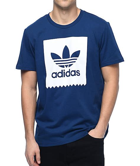 Tshirt Adidas Shoes I adidas blackbird logo fill navy t shirt zumiez