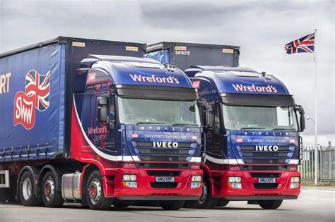 stormont delivers  iveco heavy trucks  wrefords transport