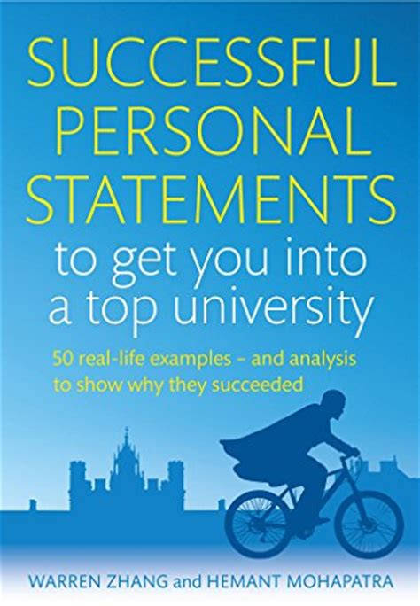 ebook successful personal statements to get you into a top 50 real exles and