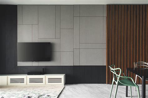 design ideas  simple contemporary feature walls home decor singapore