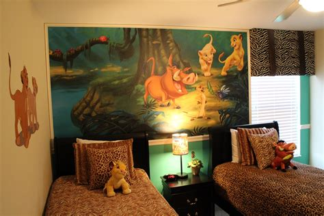 lion king bedroom theme resort homes of florida lion king room