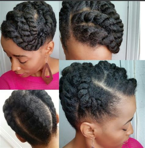 Flat Twist Updo Hairstyles by Flat Twist Updo Hair Flat Twist