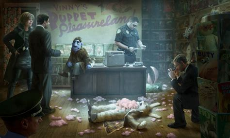 A Time For Murder concept from the happytime murders collider