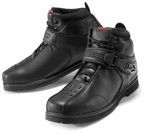 moto shoes icon duty 4 boots revzilla