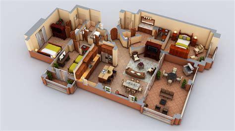 3d Home Design Kits 3d Floor Plans Cartoblue