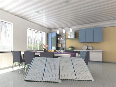 white groove color pvc ceiling panels  white groove