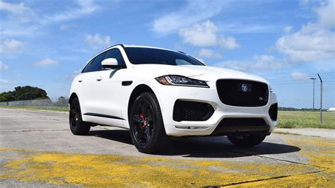 jaguar f pace blacked out 2017 jaguar f pace s walkaround video polaris white