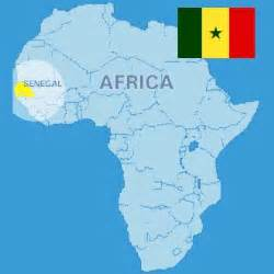 Senegal Africa Map by Study Abroad Program In Senegal French