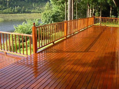 deck treatment