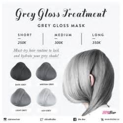 Wash Out Hair Color - 50 shades of grey hair blobar