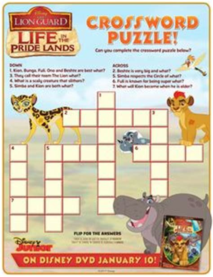film lion crossword free disney moana movie coloring page pinteres