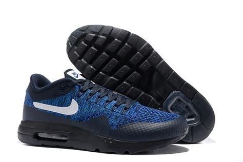 Nike Airmax Flyknit Premium nike air max 1 premium air max 1 flyknit bleu et noir