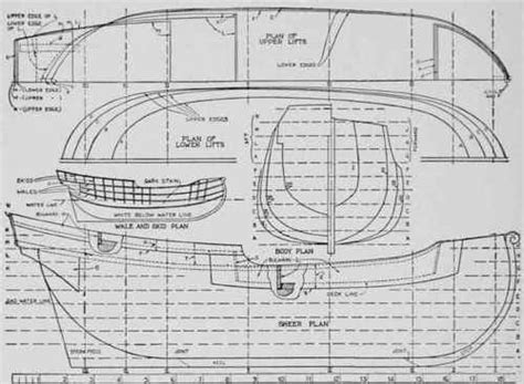boat hull plans model boat hull plans how to diy download pdf blueprint uk